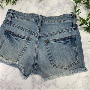 Free People Shorts - Free people Uptown Short with custom patchwork